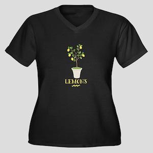 Lemons Plus Size T-Shirt