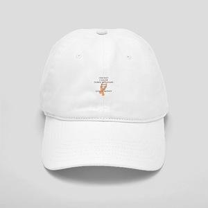Cancer Bully (Peach Ribbon) Baseball Cap