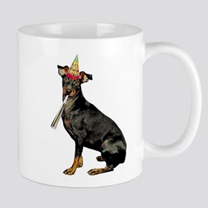 Manchester Terrier Birthday Mugs