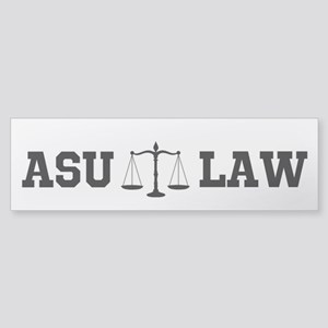 Asu Law Bumper Sticker