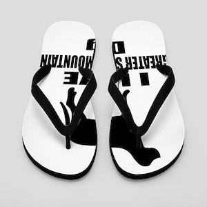 I Love Greater Swiss Mountain Dog Flip Flops