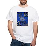 Alef and Tav White T-Shirt