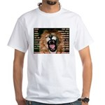 Yeshua, The Lion Of Judah White T-Shirt