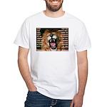 Yeshua, The Lion Of Judah White T-Shirt