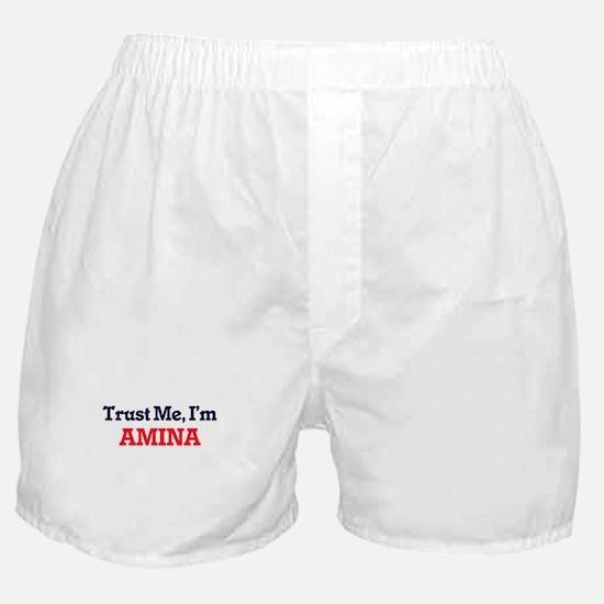 Trust Me, I'm Amina Boxer Shorts