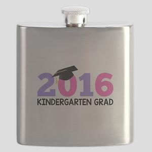 2016 Kindergarten Grad (Girls) Flask