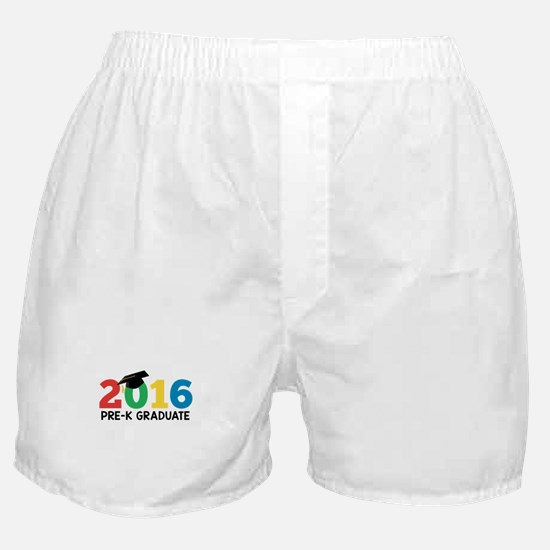 2016 Pre-K Graduate Boxer Shorts