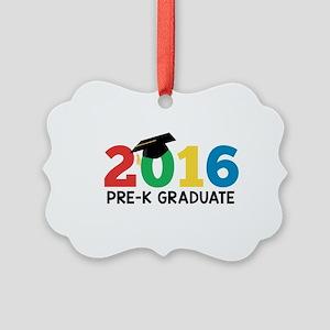2016 Pre-K Graduate Picture Ornament