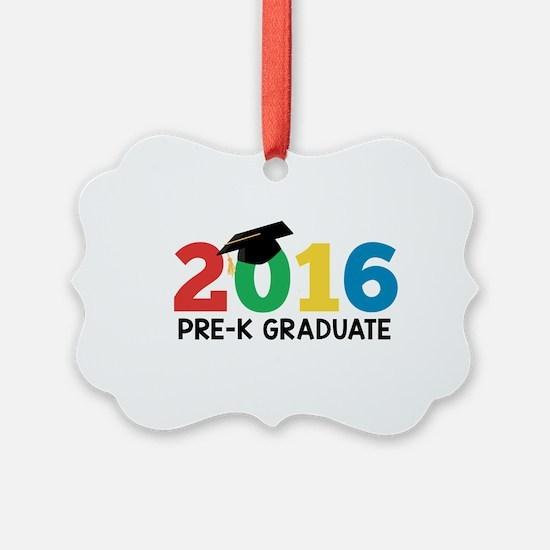 2016 Pre-K Graduate Ornament
