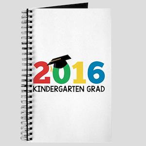 2016 Kindergarten Grad Journal