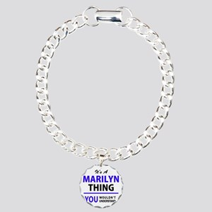 It's MARILYN thing, you Charm Bracelet, One Charm