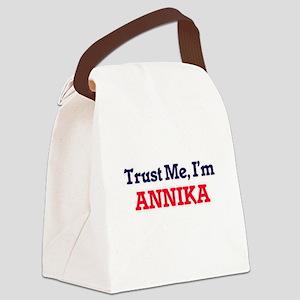 Trust Me, I'm Annika Canvas Lunch Bag