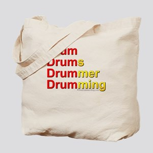 Drum-Drumming : Tote Bag