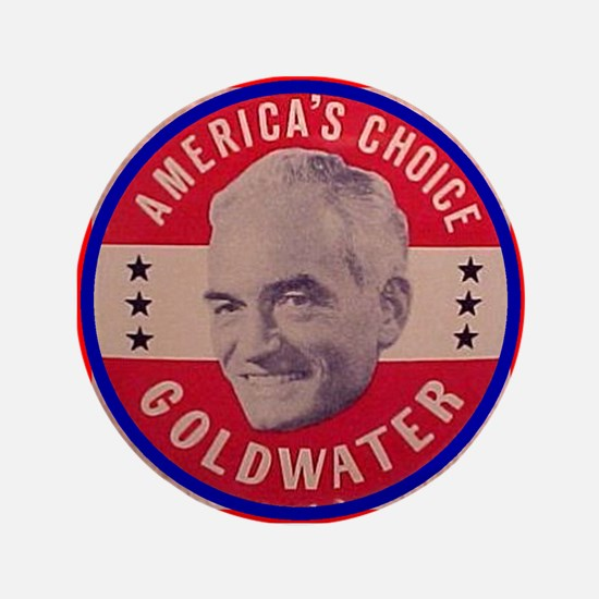 "Goldwater-1 3.5"" Button"