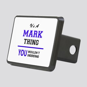 It's MARK thing, you would Rectangular Hitch Cover