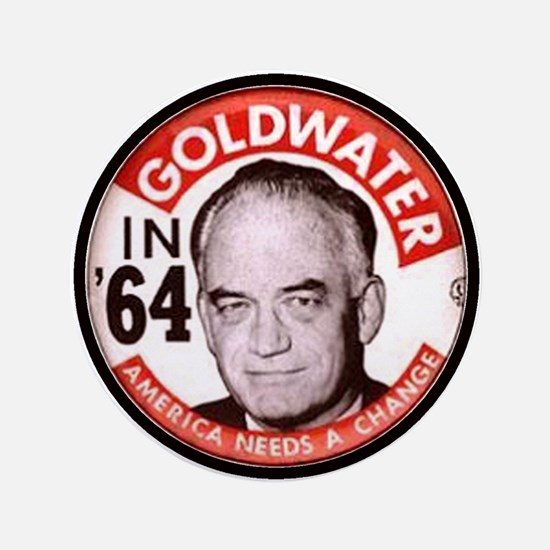 "Goldwater-2 3.5"" Button"