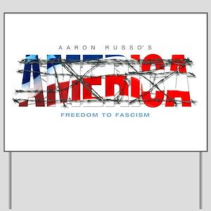 America-W Yard Sign