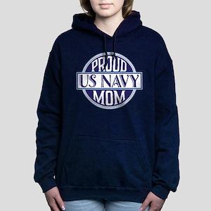 Proud US Navy Mom Women's Hooded Sweatshirt
