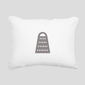 Cheese Grater Rectangular Canvas Pillow