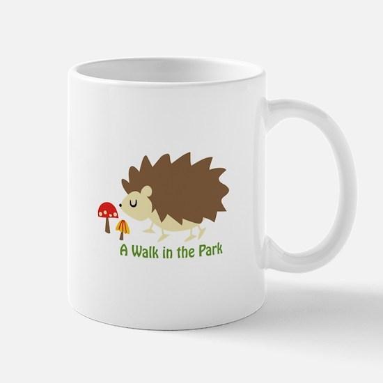 Walk In The Park Applique Mugs