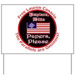 Free Lauren-2 Yard Sign