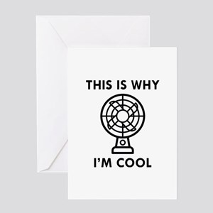 This Is Why I'm Cool Greeting Card