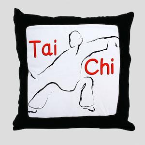 Tai Chi Throw Pillow