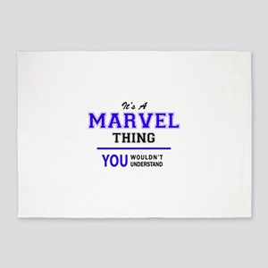 It's MARVEL thing, you wouldn't und 5'x7'Area Rug