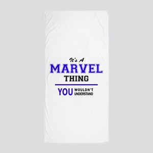 It's MARVEL thing, you wouldn't unders Beach Towel