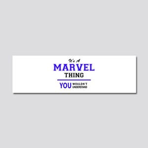 It's MARVEL thing, you wouldn't Car Magnet 10 x 3