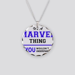 It's MARVEL thing, you would Necklace Circle Charm