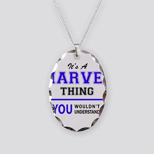 It's MARVEL thing, you wouldn' Necklace Oval Charm
