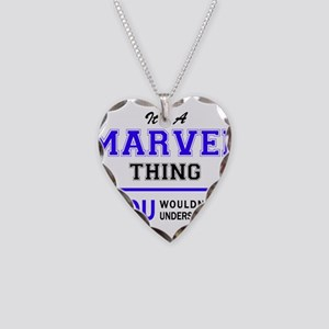 It's MARVEL thing, you wouldn Necklace Heart Charm