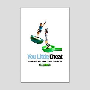 Maradona Mini Poster Print