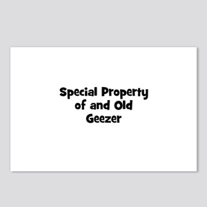 Special Property of and Old G Postcards (Package o