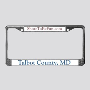 Talbot County Maryland License Plate Frame