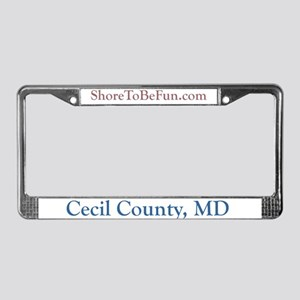 Cecil County Maryland License Plate Frame