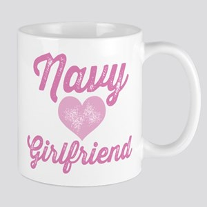 Proud Navy Girlfriend Mugs