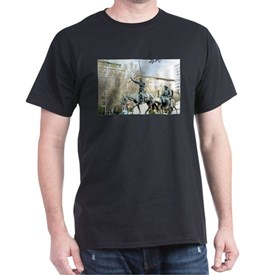 Spanish heroes Don Quixote and Sancho T-Shirt