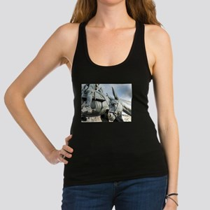 Spanish famous wind mill fighte Racerback Tank Top