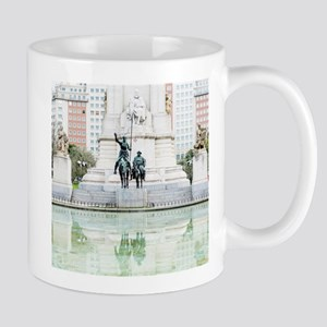 Spanish famous wind mill fighters Don Quixote Mugs