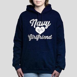 US Navy Girlfriend Women's Hooded Sweatshirt