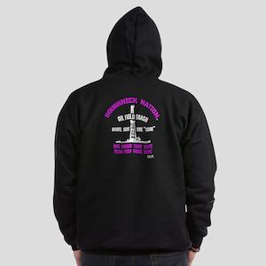 OILFIELD TRASH Zip Hoodie (dark)
