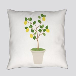 Lemon Tree Everyday Pillow