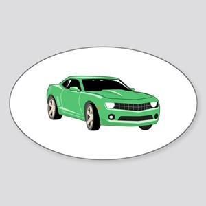 Large Sports Car Sticker