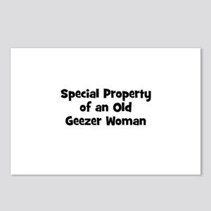 Special Property of an Old Ge Postcards (Package o
