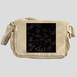 Bright Bubbles Messenger Bag