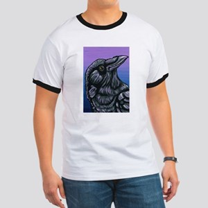 Purple Crow Raven T-Shirt