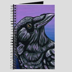 Purple Crow Raven Journal