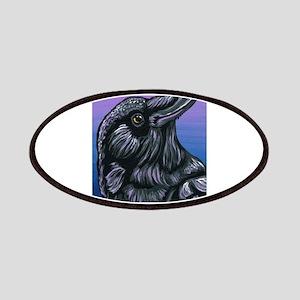 Purple Crow Raven Patch